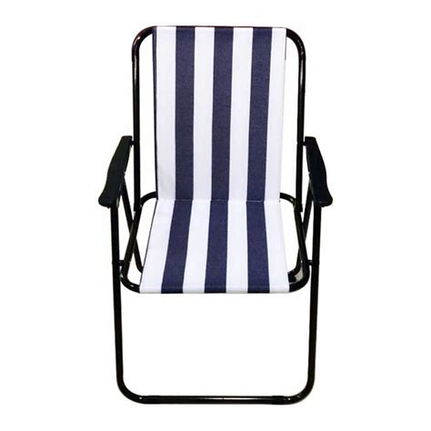 Blue And White Striped Armchair Picnic Cing Armchair Blue And White Stripe On Sale