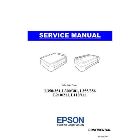 Spare Part Epson L210 epson l210 service manual