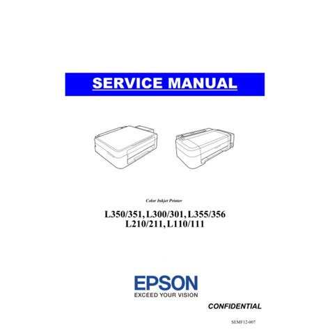 reset printer epson l110 secara manual epson l210 service manual