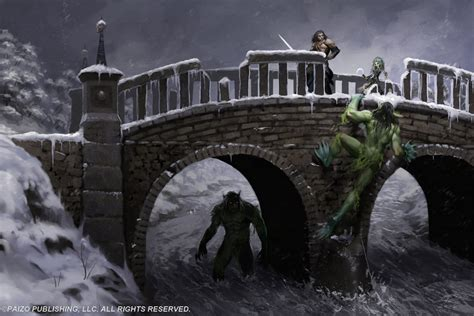 troll bridge troll bridge by akeiron on