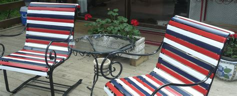 restrapping patio chairs restrapping patio chairs how to repair chair straps and