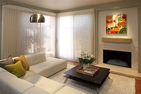 How To Install Hunter Douglas Blinds Space Saving Design Ideas For Small Living Rooms