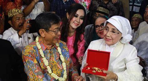 Cemporeng Keraton Ayu Original Dfnv dinikahi ajip rosidi nani wijaya tak berharap anak showbiz liputan6
