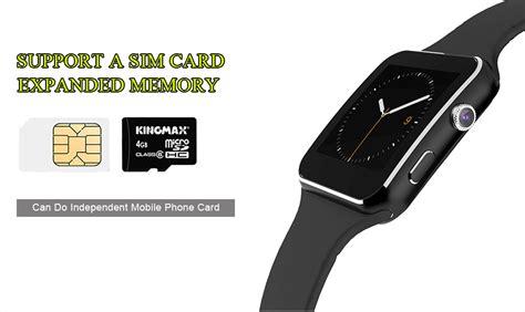 Floveme Bluetooth Smartwatch by Floveme Bluetooth Smartwatch Black Jakartanotebook