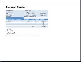 free template for receipt of payment ms excel payment receipt template receipt templates