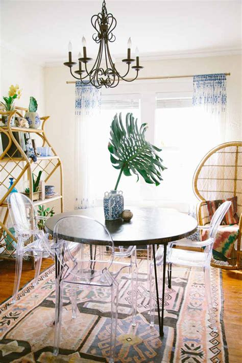 Bohemian Dining Room Gorgeous Bohemian Home With Stories Home Design And Interior