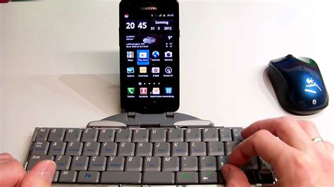 bluetooth mouse and keyboard on android youtube