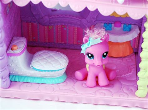 my little pony doll house games amazon com my little pony newborn cuties playset toys games