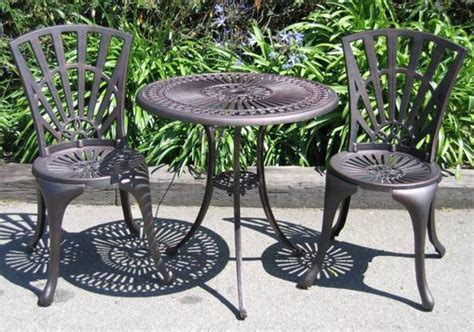 Cast Iron Outdoor Furniture Landscaping Gardening Ideas Cast Iron Patio Furniture Sets