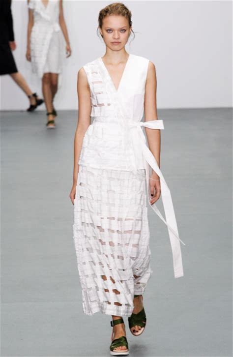 Lfw Day One Snapped Suzy Menkes by Suzylfw Christopher Raeburn Sustainability At The
