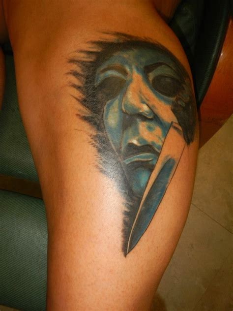 michael myers tattoo 17 best images about horror tattoos on ink