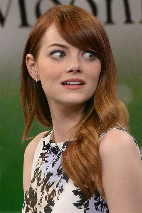 emma stone emmy emma stone at good morning america in new york