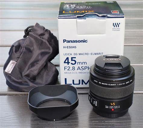 Panasonic Leica Dg Macro Elmarit 45mm F28 Asph Mega Ois H Es045e panasonic leica dg macro elmarit 45mm f2 8 asph mega o i