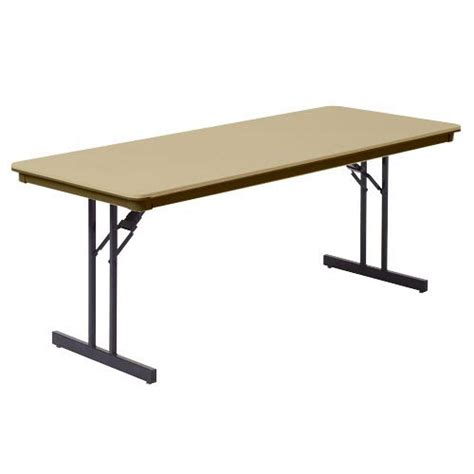 mity lite folding tables mity lite abs folding table 24 quot x 60 quot rt2460 folding