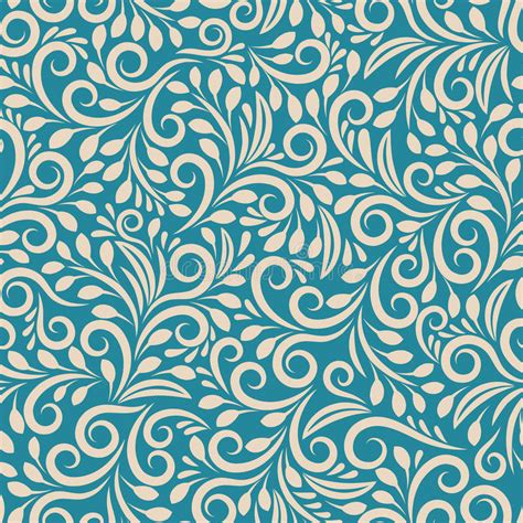 uniform pattern background seamless floral pattern on uniform background stock vector