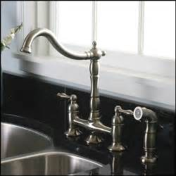 brushed nickel kitchen faucet best kitchen faucets