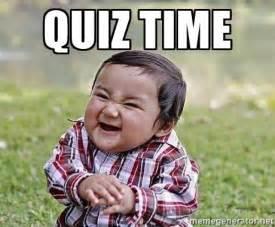 Meme Quiz - quiz time evil plan baby meme generator