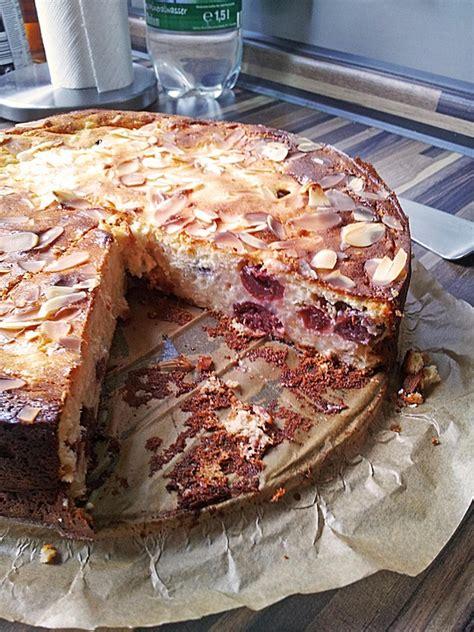 milchreis kuchen milchreis kirsch kuchen rezept mit bild bloody
