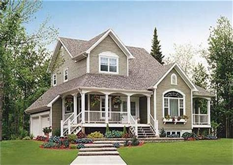 Country Homes Designs by 2 Story Country Homes And House Plans The Plan Collection