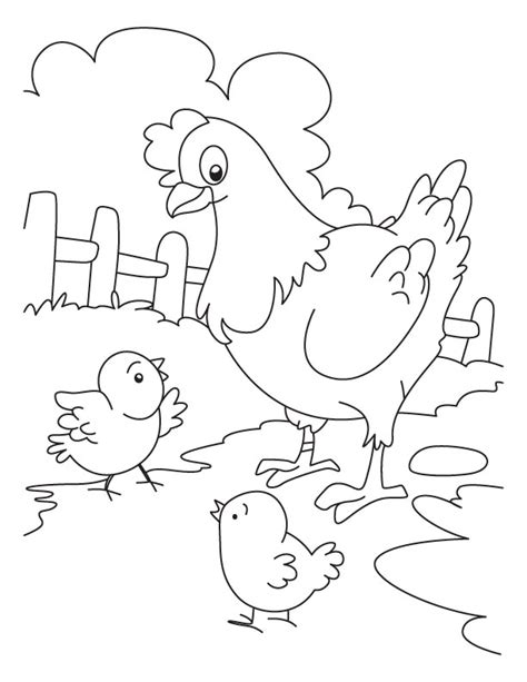 chicken coloring pages chick coloring pages az coloring pages