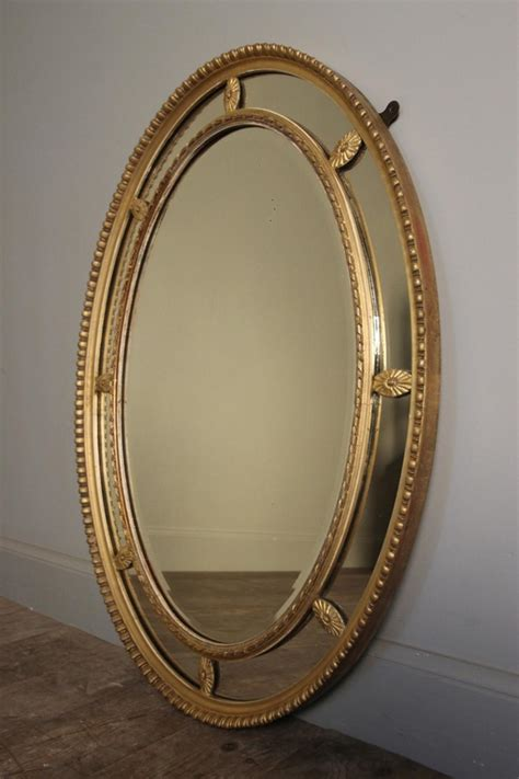 Sectional Mirrors by Edwardian Giltwood Margin Sectional Mirror In Mirrors