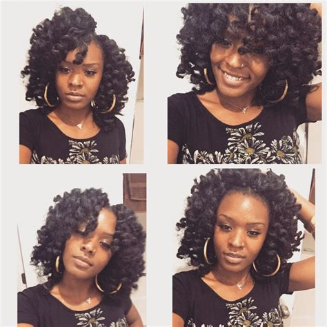perm rods braiding styles natural hair pinterest crotchet braids with perm rods natural styles