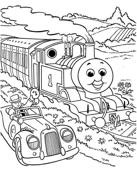 thomas the tank engine coloring pages 12 coloring kids