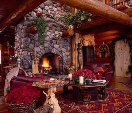 christmas in a cozy log cabin 171 country living