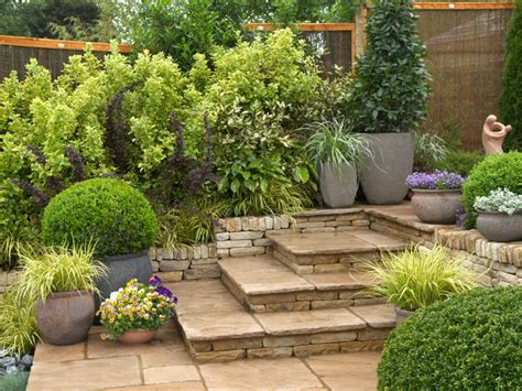 Garden Level by Creating A Mediterranean Patio Landscaping Ideas And