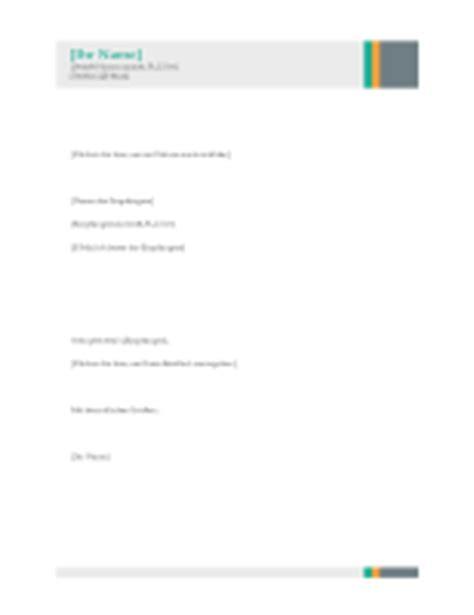 Vorlage Geschäftsbrief Modern Templates For Word