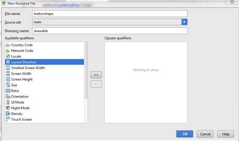 cara membuat file xml android cara membuat button pada android studio