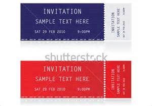 ticket invitations template free ticket invitation template 55 free psd vector eps ai