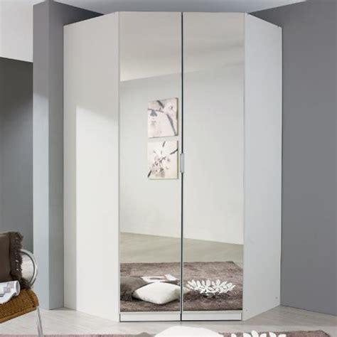 eckschrank schlafzimmer eckkleiderschrank eckschrank spiegel wei 223 kleiderschrank