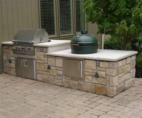 kitchen island grill stone age 12 straight island with gas grill and ceramic