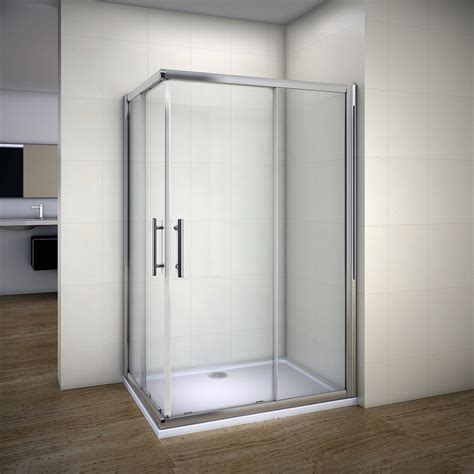Door Enclosure Frameless Sliding Shower Enclosure With Shower Cubicle Door