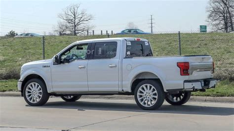 2019 ford f 150 limited 2019 ford f 150 limited spied with new rear bumper dual