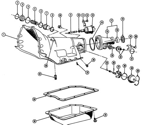 turbo 350 diagram turbo hydra matic 350 transmission imageresizertool