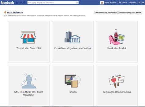 cara membuat iklan fan page cara membuat fan page di facebook mudah dan cepat devisologi