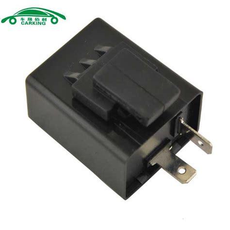 signal light flasher relay motorcycle 12v flasher relay led indicator light black
