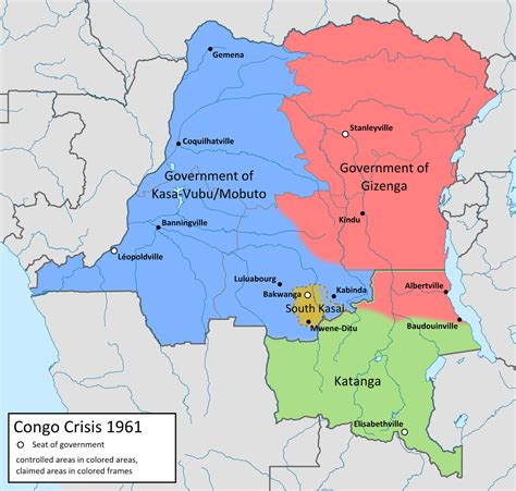 congo map springtime of nations katanga conflict reignites in southern congo