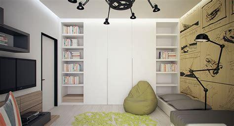 biblioth鑷ue chambre chambre ado bibliotheque penderie picslovin
