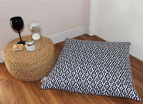 floor cusion floor cushions by the shed inc notonthehighstreet com