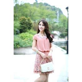 Dress Korea Anablue A 1631 dress wanita model korea d987 moro fashion