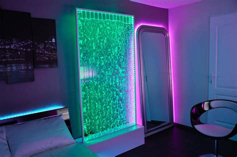 bedroom alternative tumblr glow neon cool purple