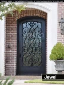 Metal Exterior Doors With Glass Iron Door Manufacturer Iron Doors And Gates Monaco Doors