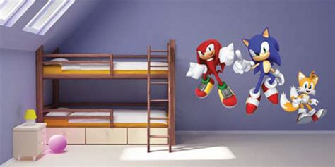 sonic wall stickers sega expands sonic portfolio with vinyl wall stickers and masks news from the licensing