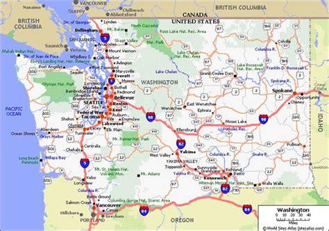 map of washington state seattle boats