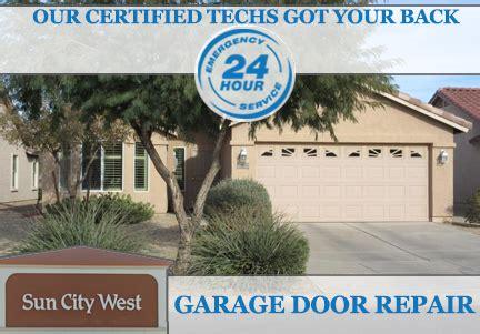 sun city garage doors garage doors installed in sun city