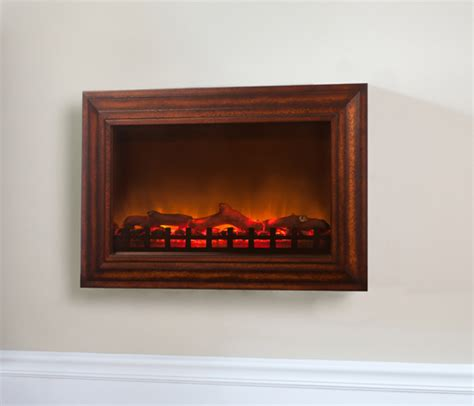 Wall Mounted Electric Fireplace Heater Sense Wall Mounted Electric Fireplace With Heater And Wood Frame