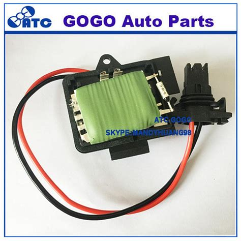 heater resistor kangoo free shipping 7701206104 ac blower motor resistor heater blower resistor fan regulator for